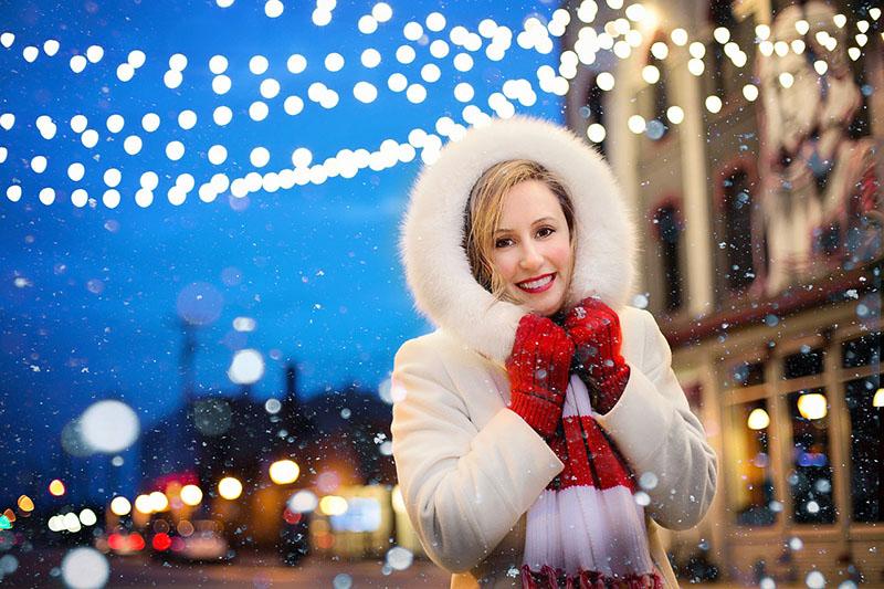 Lucir sonrisa en Navidad